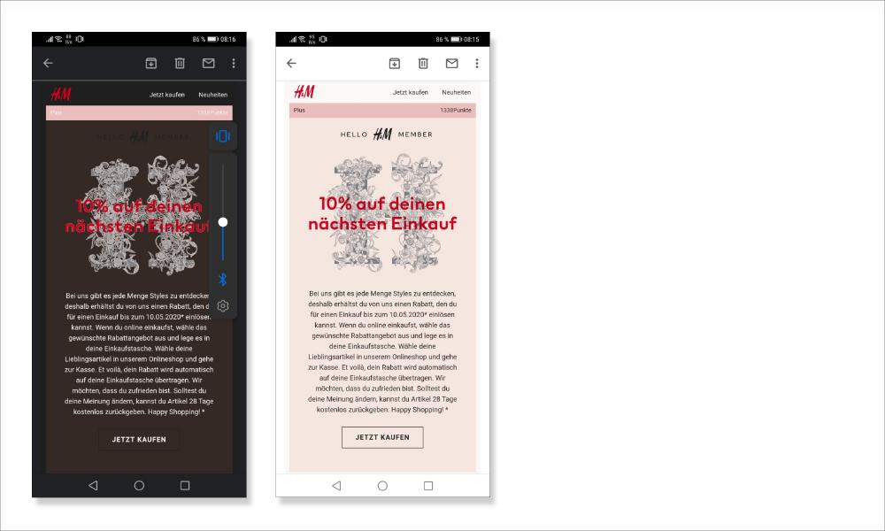 4 bildschirmhintergrund voreingestellt 1 - E-Mail Erstellung: Template & Design