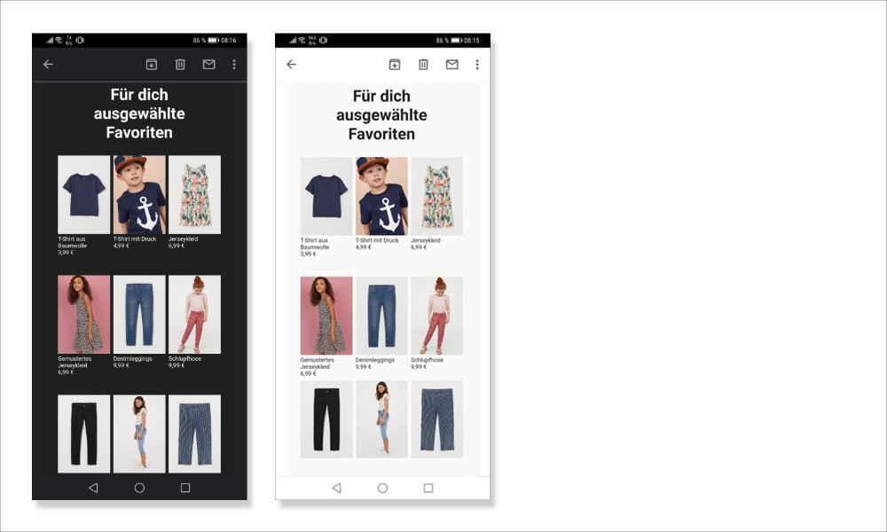 5 bildschirmhintergrund voreingestellt2 - E-Mail Erstellung: Template & Design