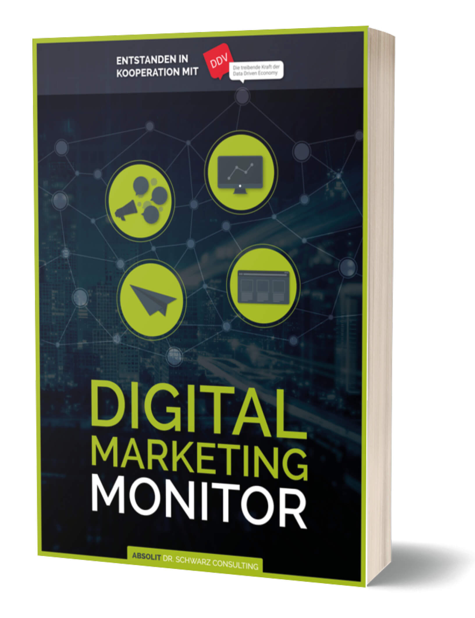 digital marketing monitor cover mockup - Digital Marketing Monitor 2019