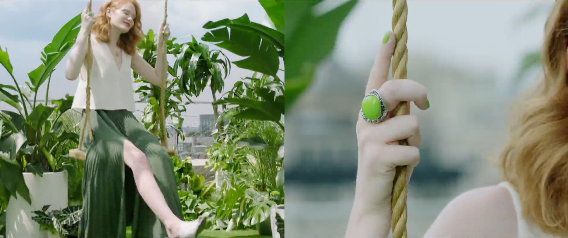 greenery 3 - Grüne Aussichten für 2017