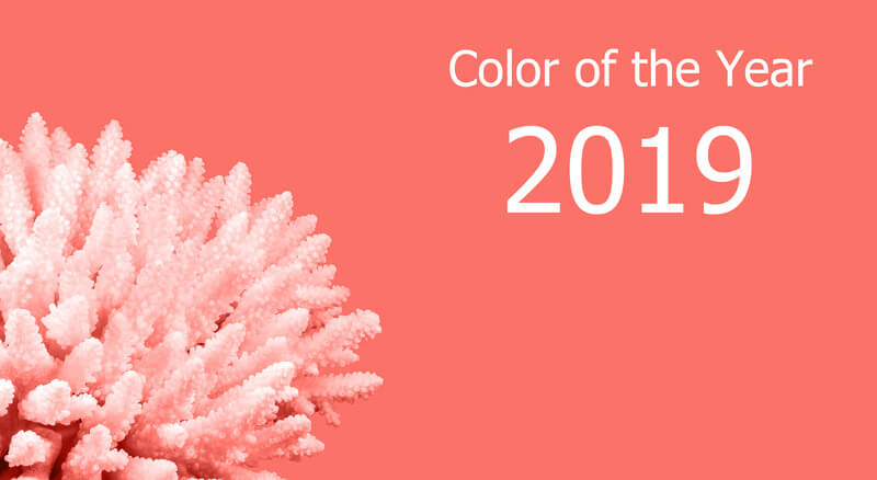 Living Coral Pantone (Trend-) Farbe 2019