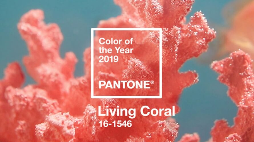 pantone living coral content 2018 - Korallenrot