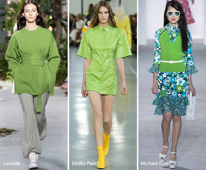 spring summer 2017 color trends greenery fashionisers - Grüne Aussichten für 2017