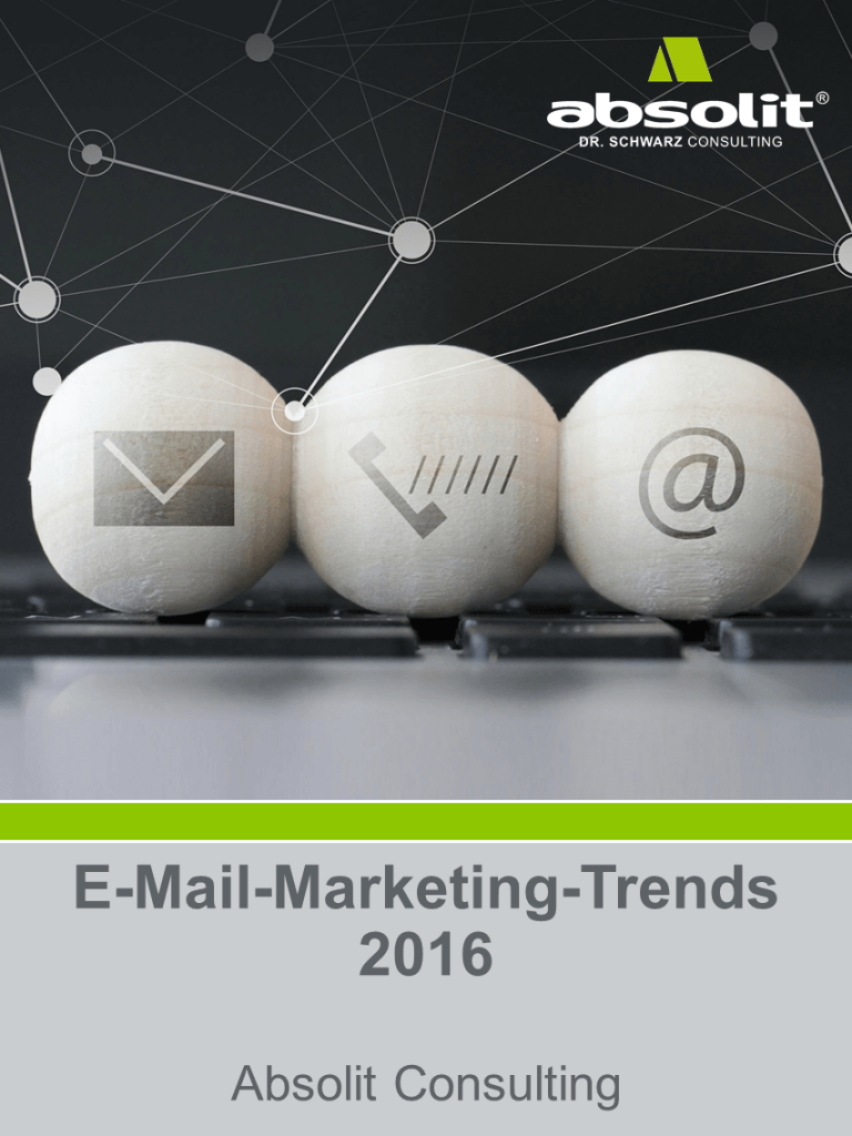 E-Mail-Marketing Trends