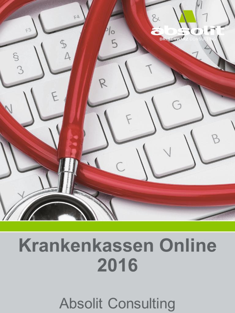 Studie: Krankenkassen online