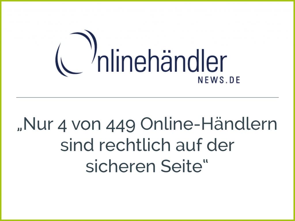 Presseclipping Onlinehändlernews