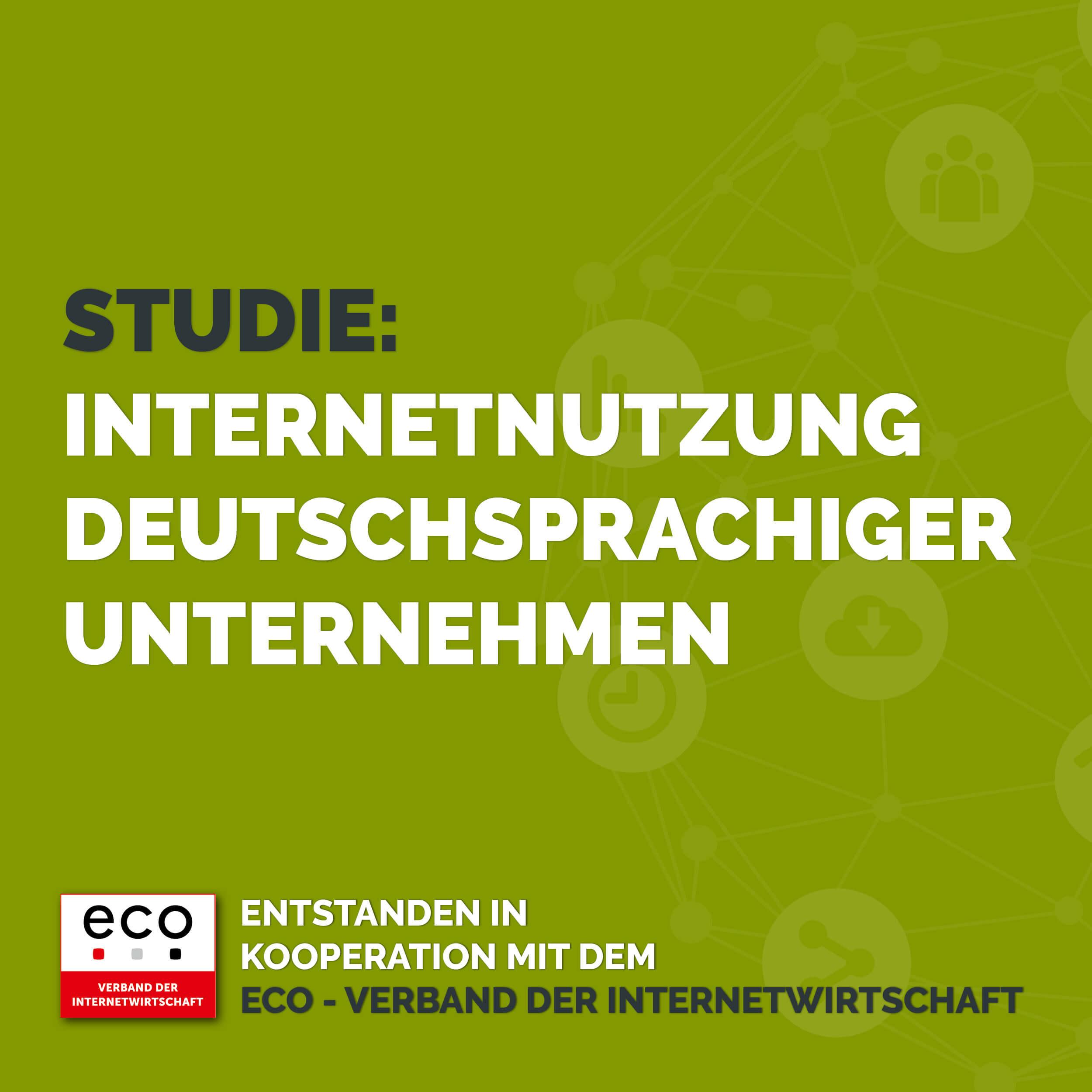 Internetnutzung deutschsprachiger Unternehmen