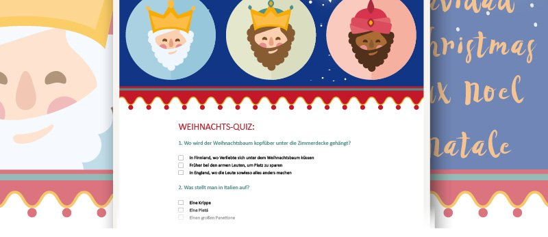 05 postina.net weihnachtsmails quiz - 10 Last-Minute-Ideen für Weihnachtsgrüße